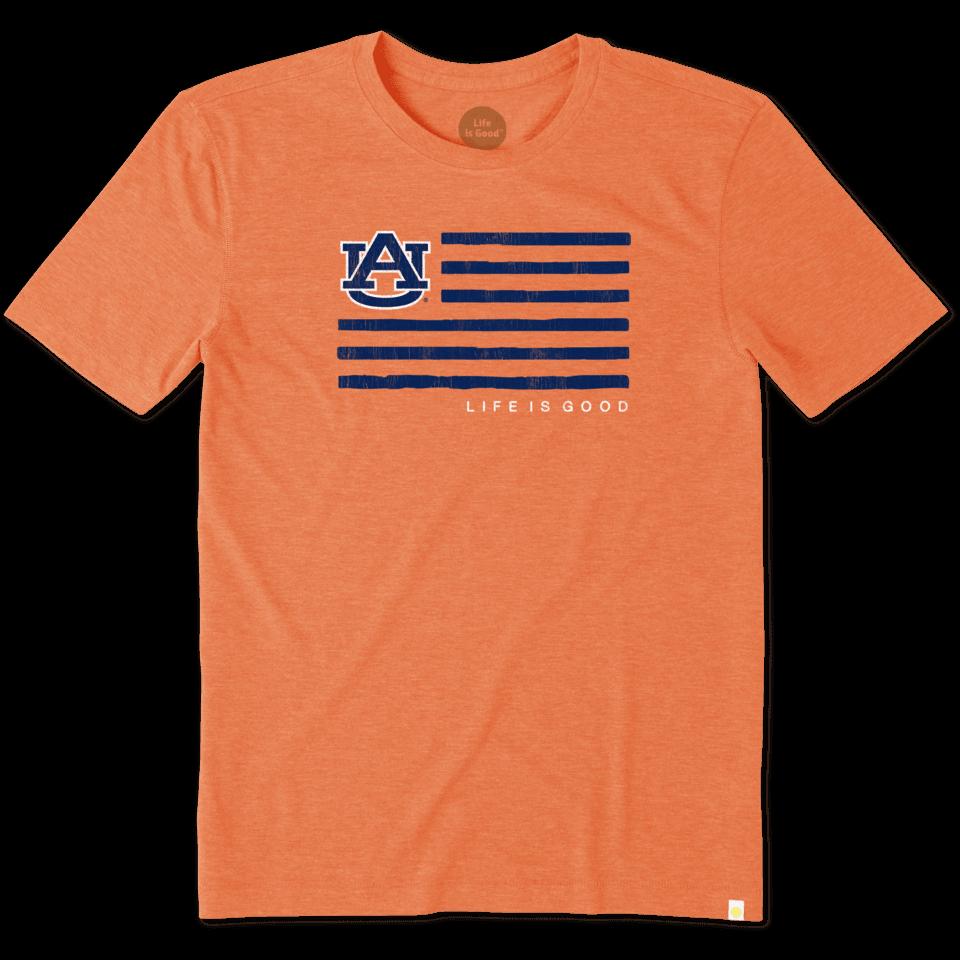 Mens Auburn Flag Cool Tee