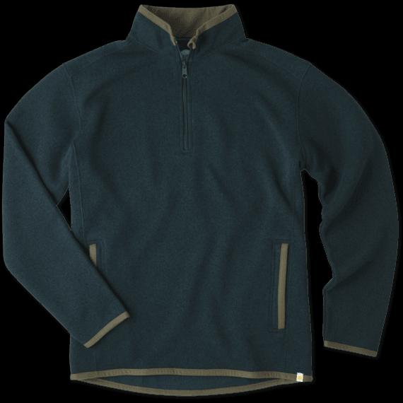 Men's Balsam Green 1/4 Zip Pullover
