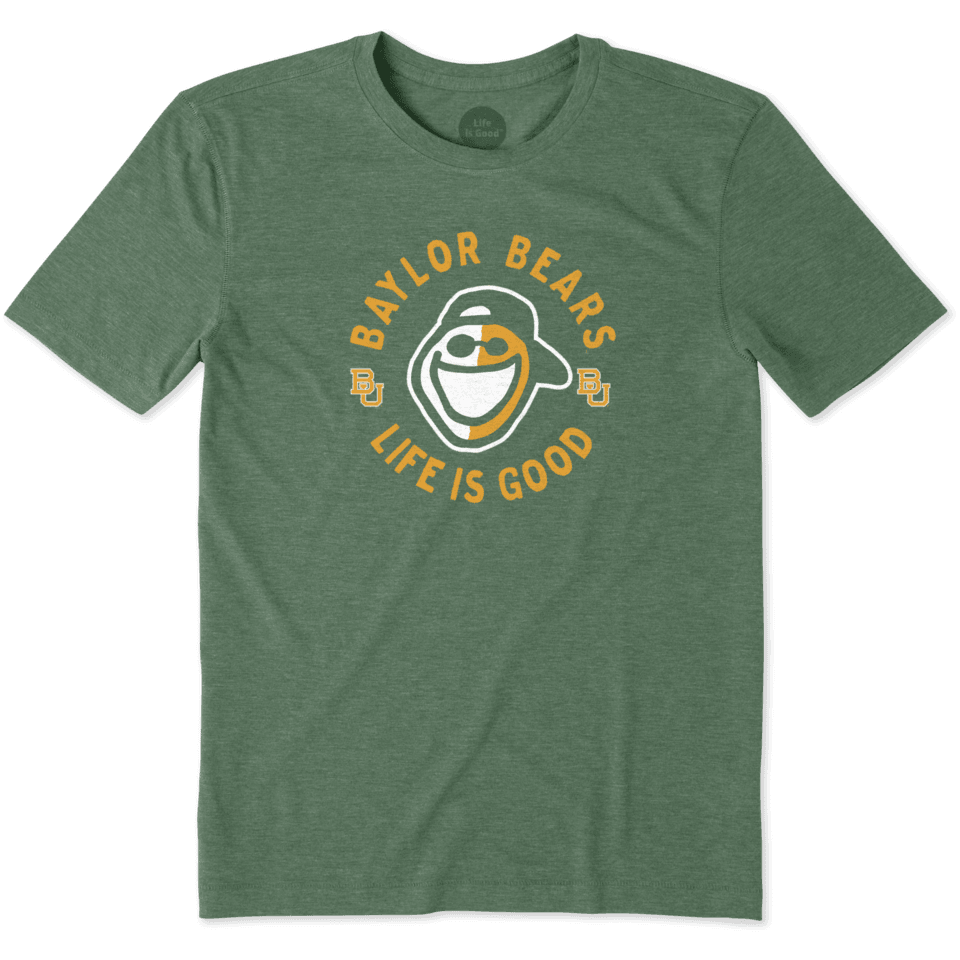 Mens Baylor Face Paint Jake Cool Tee