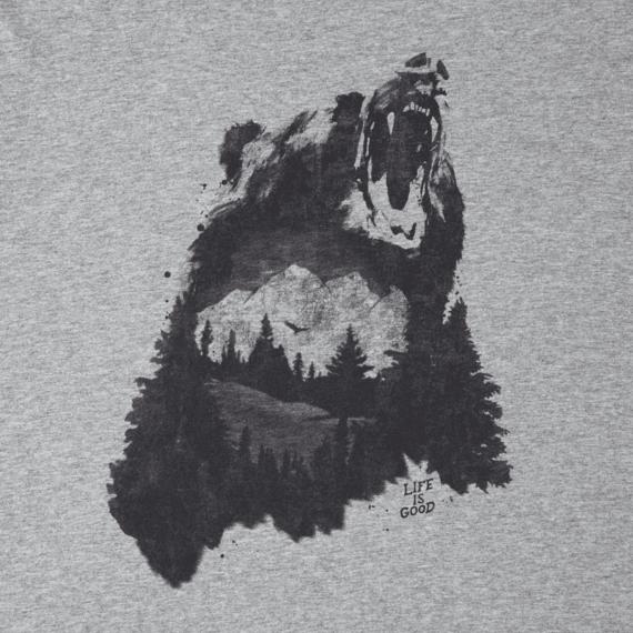 Men's Bear Growl Smooth Tee