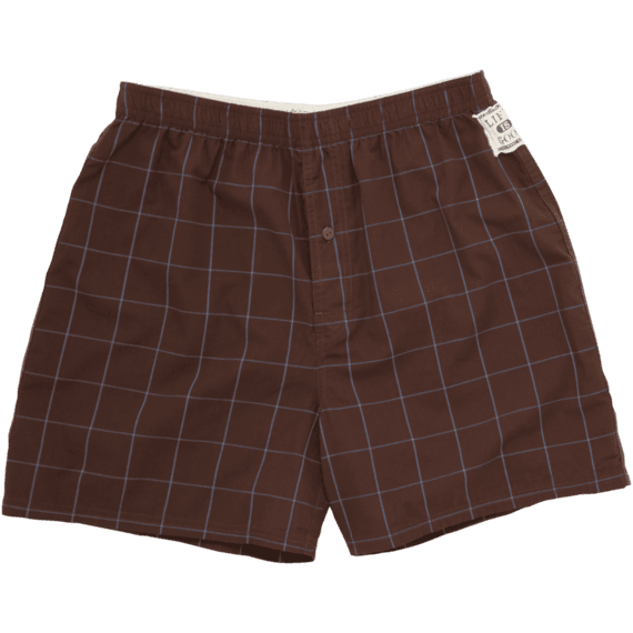 Men's Plaid Boxers