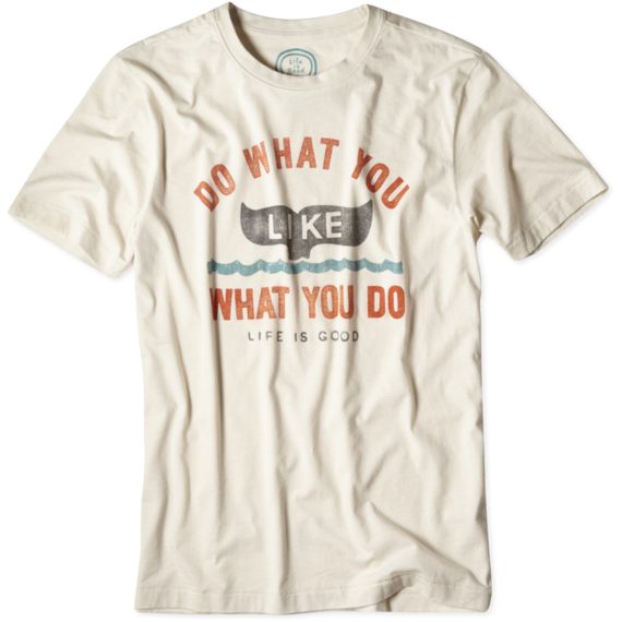 Men's Do What You Like Whale Cool Tee