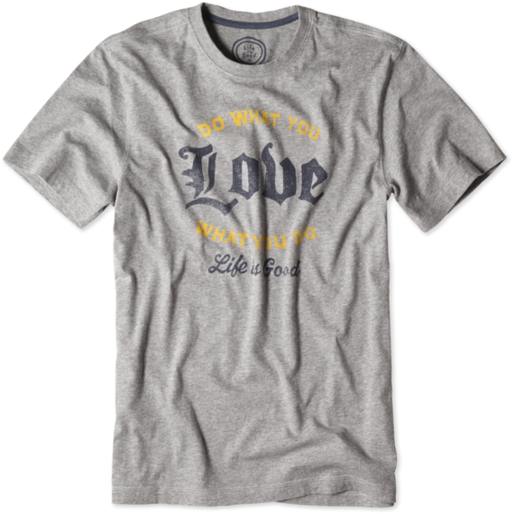Men's Do What You Love Creamy Tee