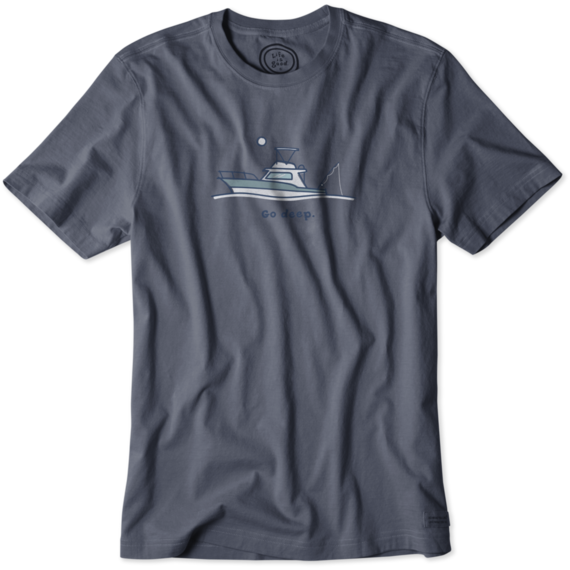 Men's Deep Sea Fish Crusher Tee