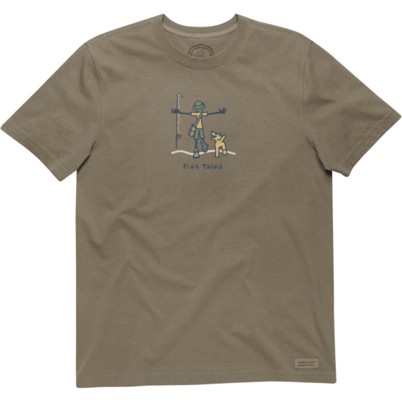Men's Fish Tales Crusher Tee