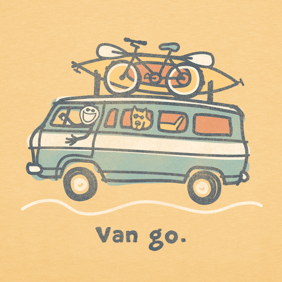 Men's Getaway Van Go Crusher Tee