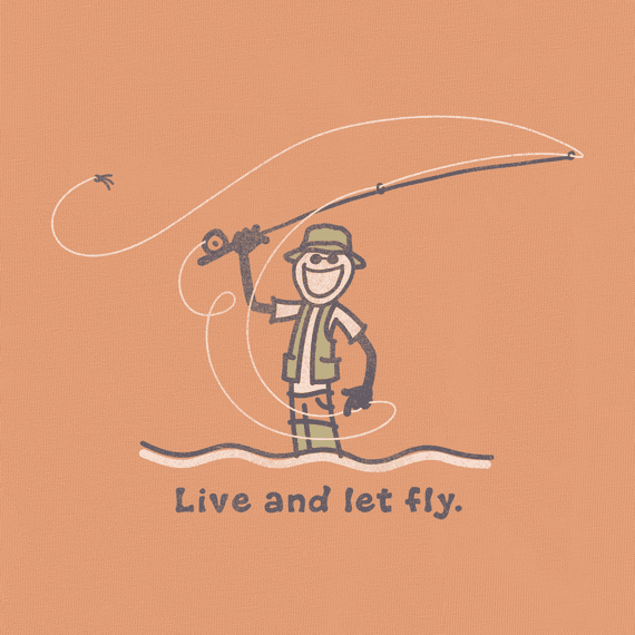 Men's Live and Let Fly Crusher Tee