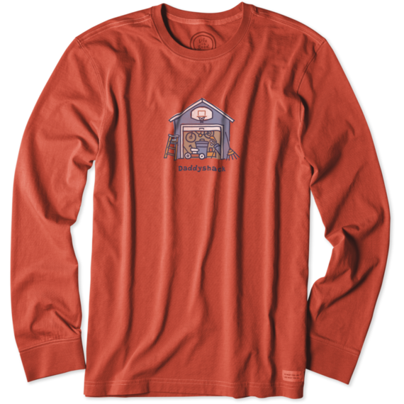 Men's Daddyshack Long Sleeve Crusher Tee