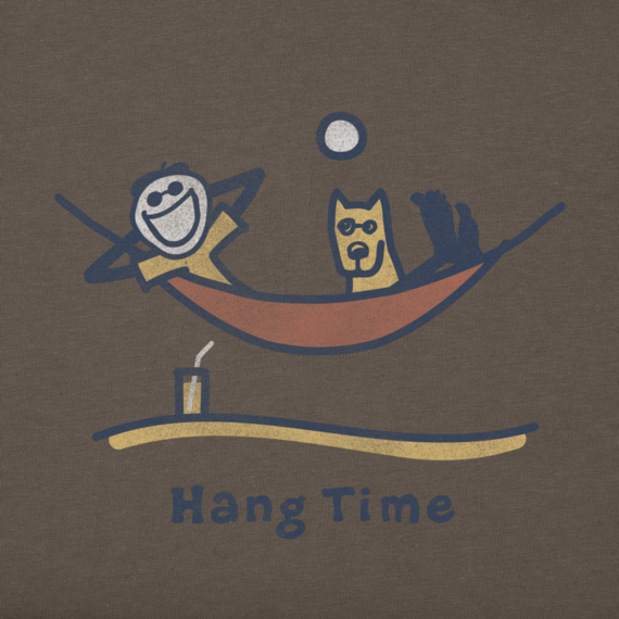 Men's Hang Time Hammock Long Sleeve Crusher Tee
