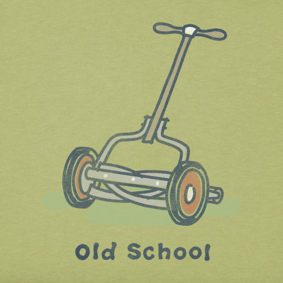 Men's Old School Mower Crusher Tee