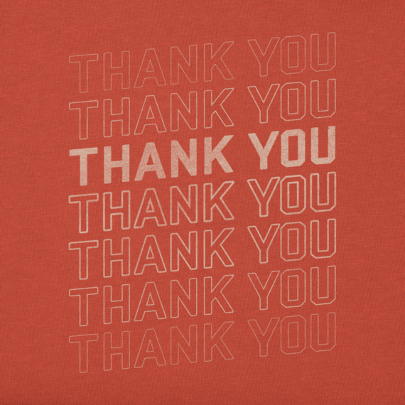 Men's Thank You Crusher Tee