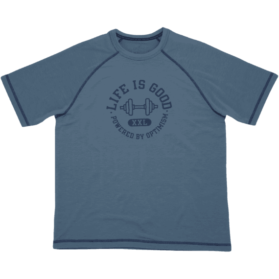 Men's Powered By Optimism Weights Tech Tee