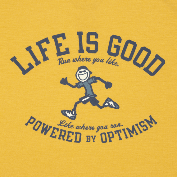 Men's Powered By Optimism Running Tech Tee