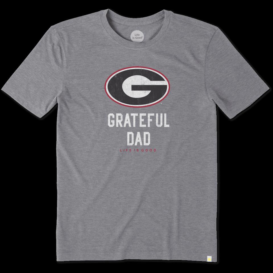 Mens Georgia Grateful Dad Cool Tee