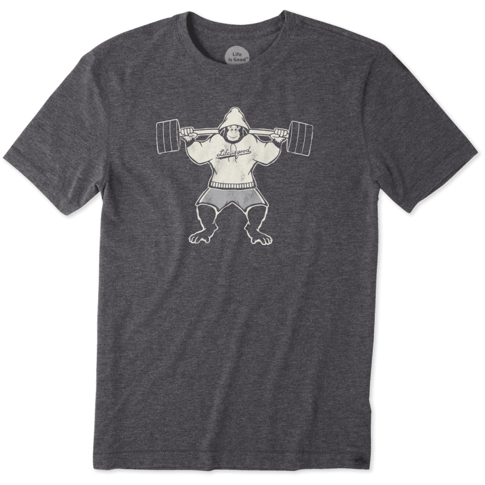 Mens Gorilla Weights Cool Tee