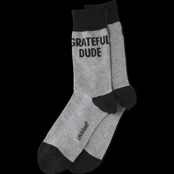 Grateful Dude Crew Socks