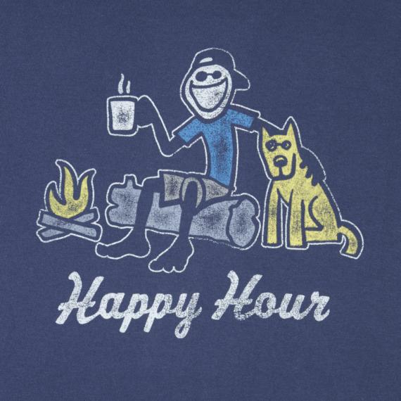 Men's Happy Hour Campfire Crusher Tee