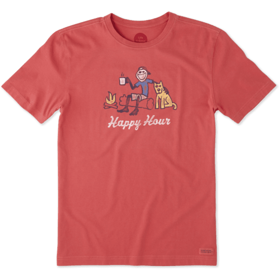 Men's Happy Hour Campfire Crusher Tee