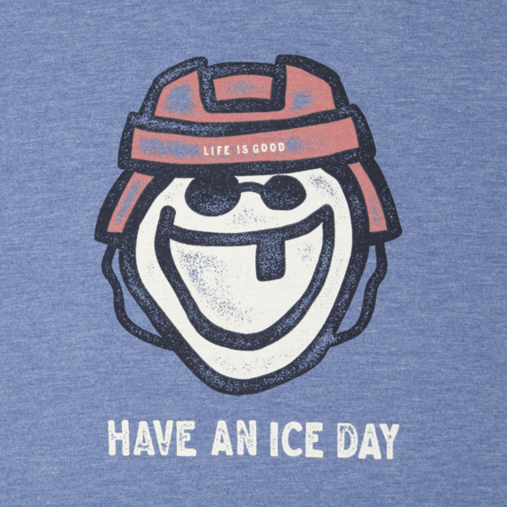 Men's Ice Day Hockey Long Sleeve Cool Tee