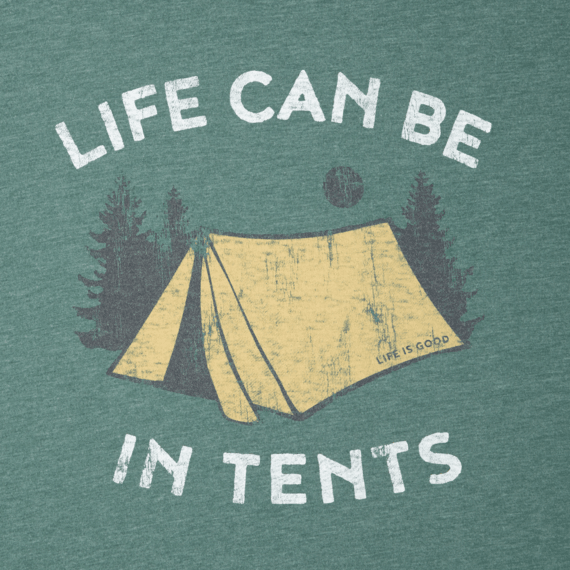 Men's In Tents Life Long Sleeve Cool Tee