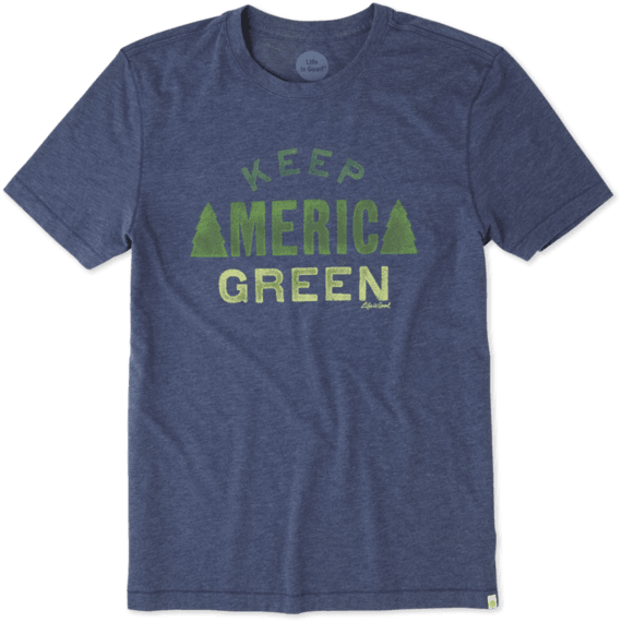 Men's Keep America Green Cool Tee