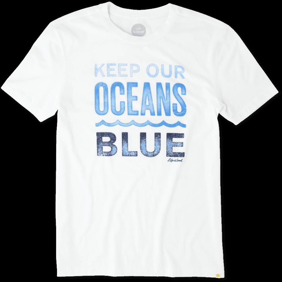 Mens Keep Oceans Blue Cool Tee