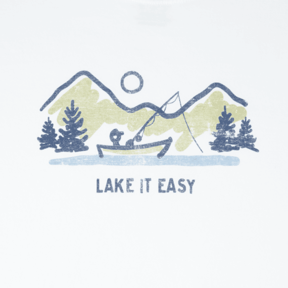 Men's Lake It Easy Crusher Tee