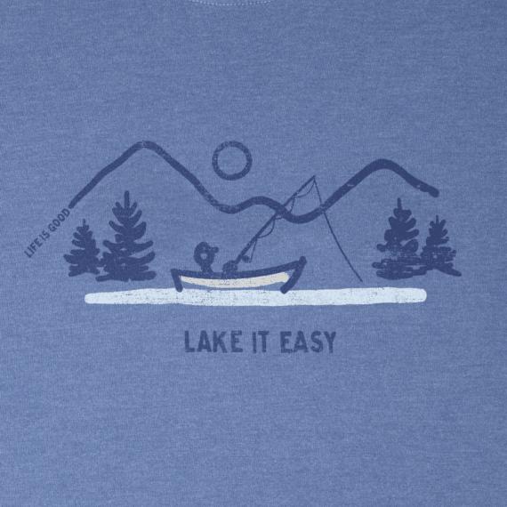 Men's Lake It Easy Long Sleeve Crusher Tee
