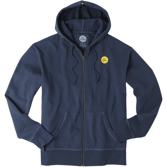 Men's Life is Good Go-To Zip Hoodie | Life is Good