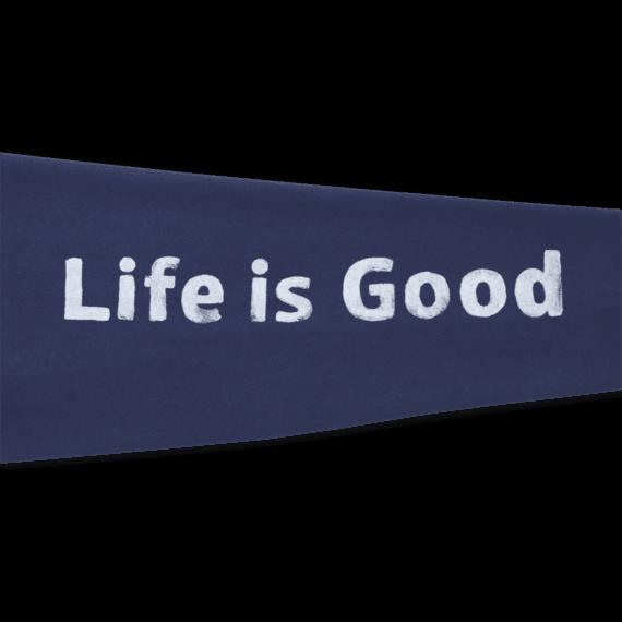 Men's Life is Good Go-To Zip Hoodie