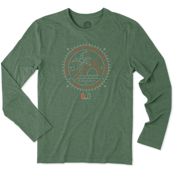 Men's Miami Wander Long Sleeve Cool Tee