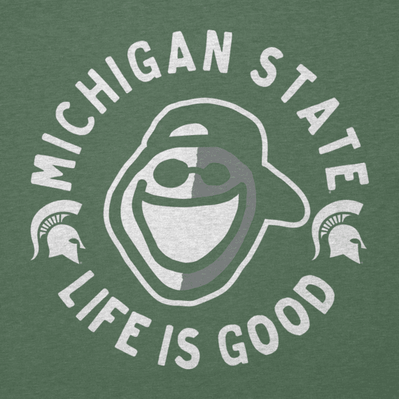 Men's Michigan State Face Paint Jake Cool Tee