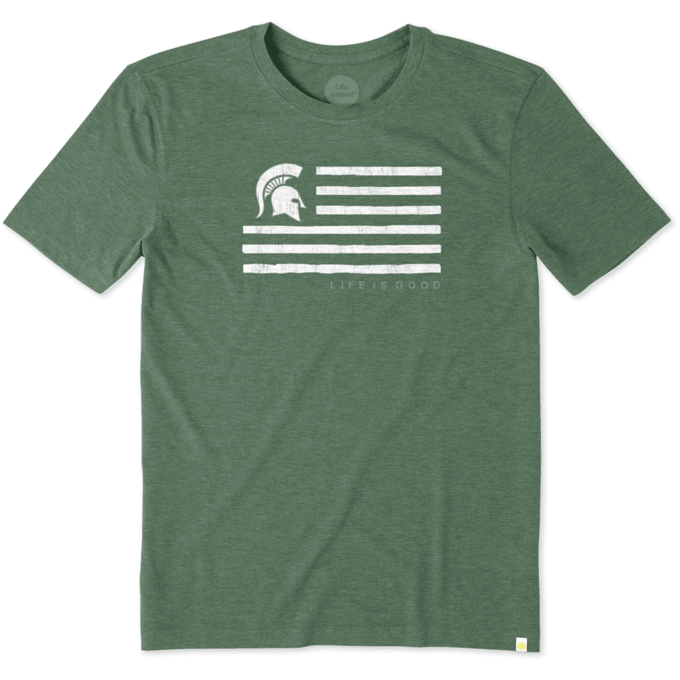 Mens Michigan State Flag Cool Tee