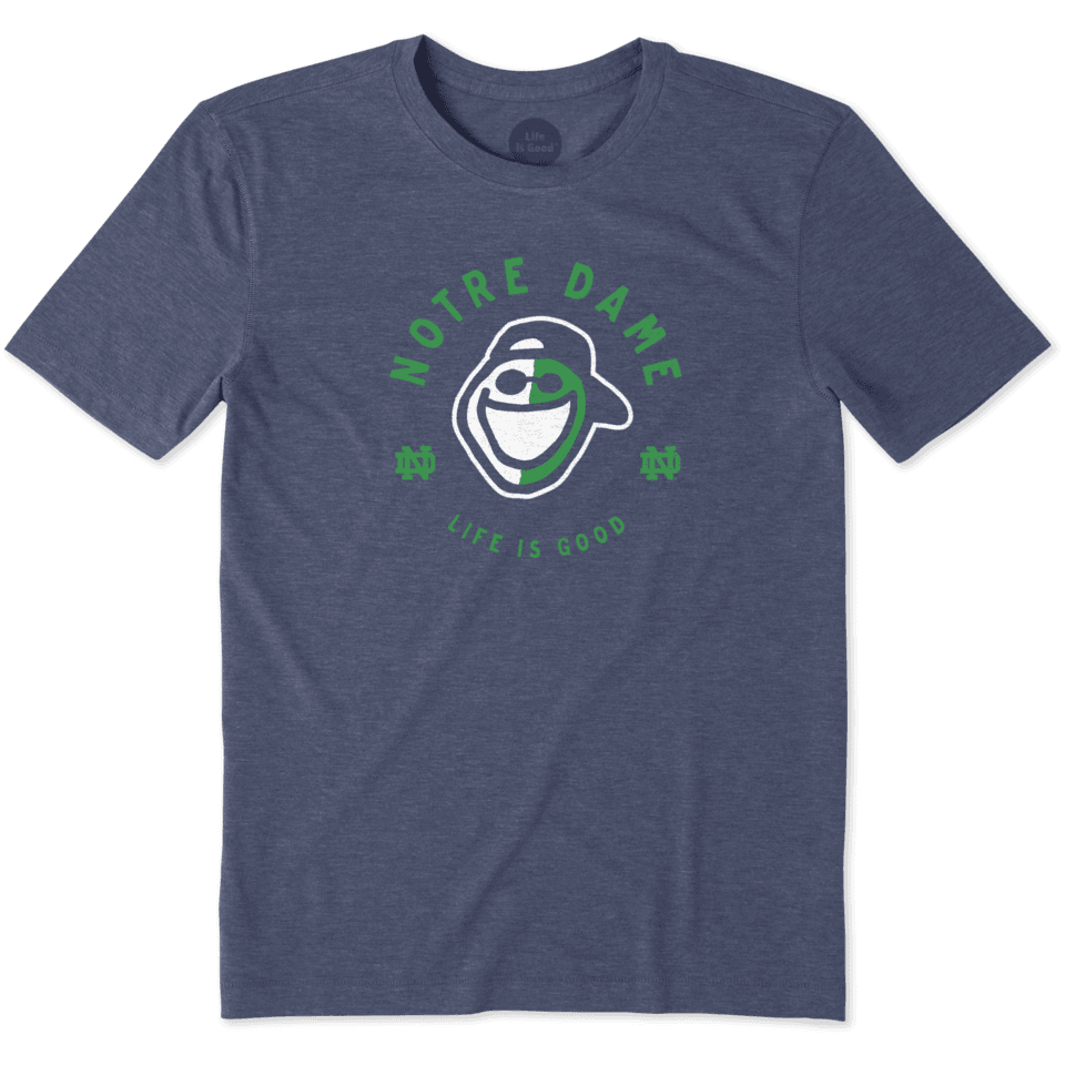 Mens Notre Dame Face Paint Jake Cool Tee