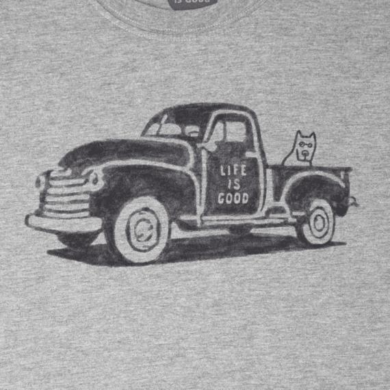 Men's Old School Truck Crusher Tee