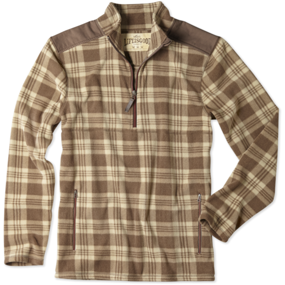 Men's Half Zip Peak Pullover