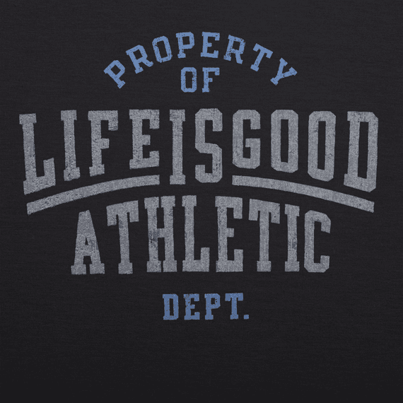 Men's Property of LIG Athletic Dept Tech Tee