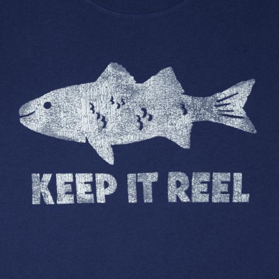 Men's Reel Fish Smooth Tee