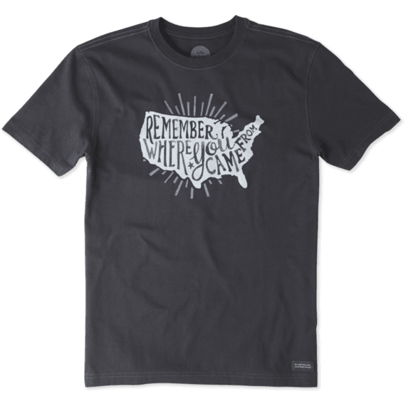 Men's Remember USA Crusher Tee