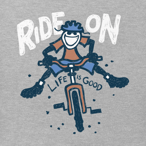 Men's Ride On Jake Crusher Tee