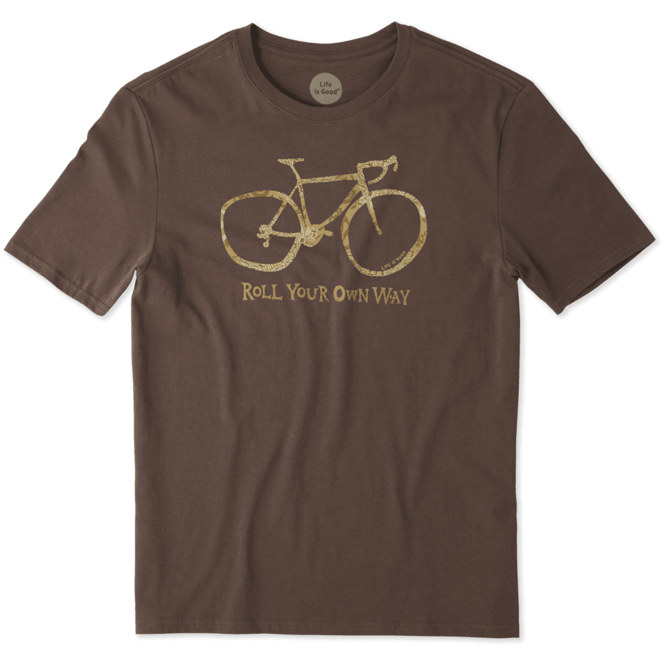Mens Roll Your Own Way Smooth Tee