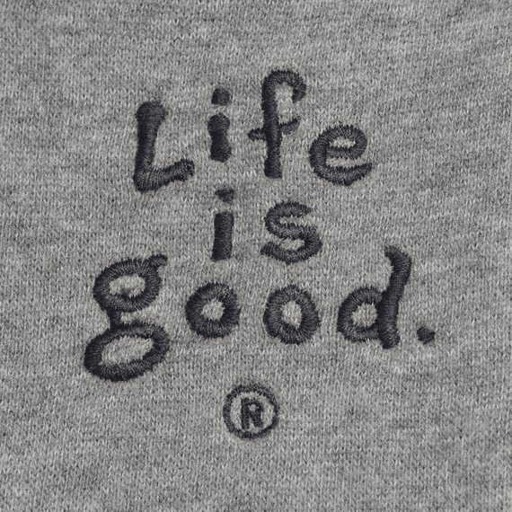 Men's Life is good Front Zip Softwash Hoodie