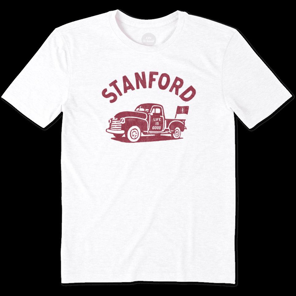 Mens Stanford Vintage Truck Cool Tee