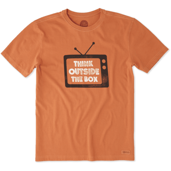 Men's Think Outside TV Crusher Tee