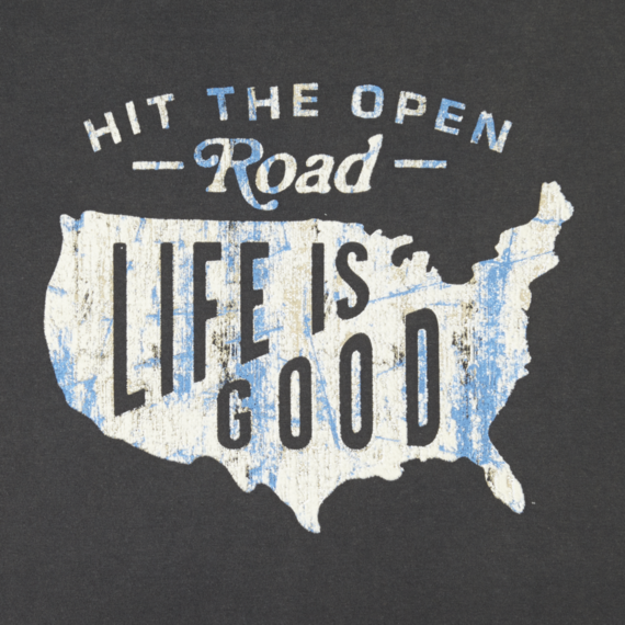 Men's Hit The Open Road Topnotch Tee