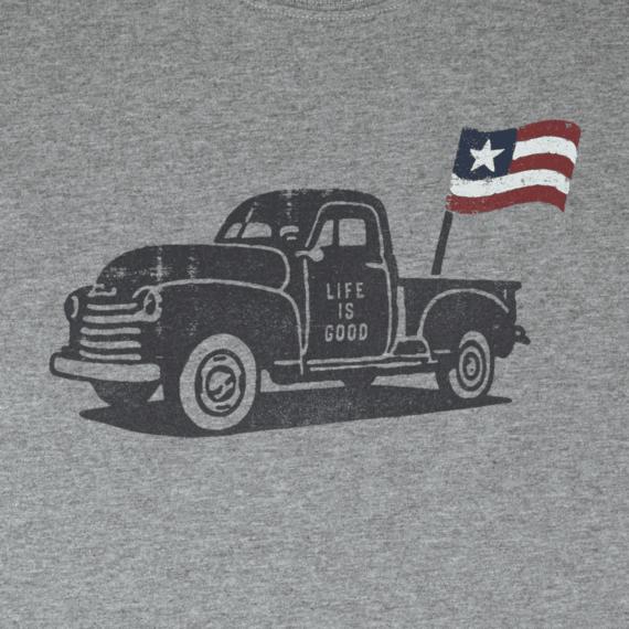 Men's Truck Flag Crusher Tee