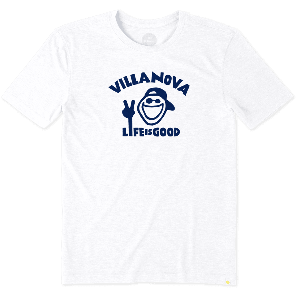 Mens Villanova University Peace Jake Cool Tee