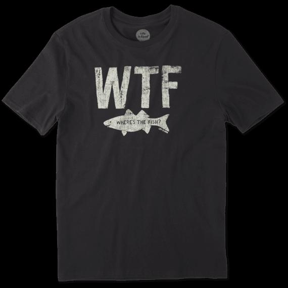Men's Wtf Fish Smooth Tee