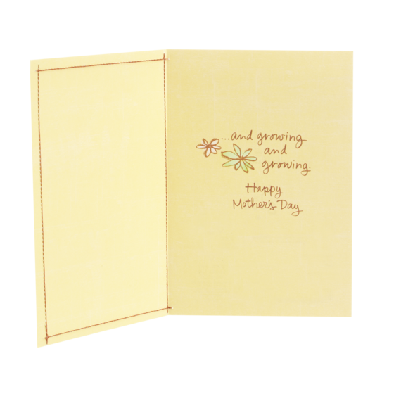 Moms Keep Happiness Growing Card