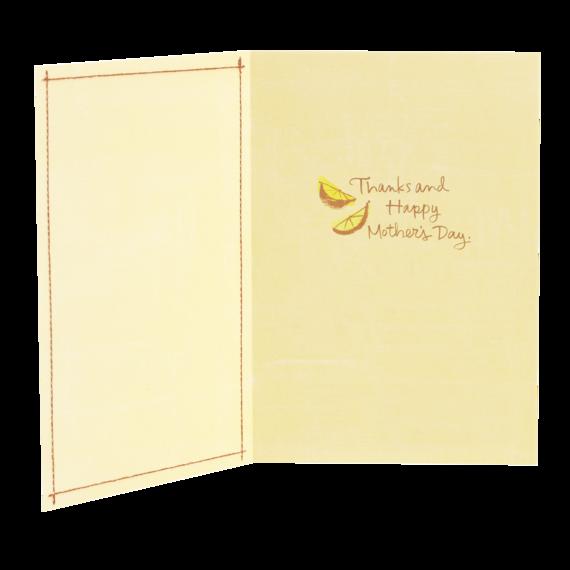 Moms Make Life Sunnier Card